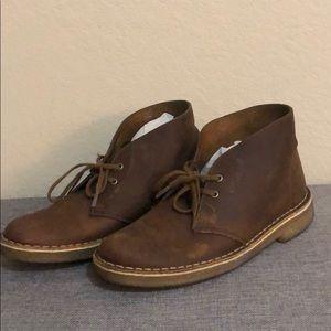 Clarks Womens Originals Desert Boot Beeswax